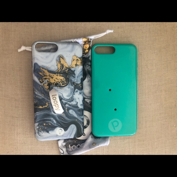 Loopy Case Accessories - Bundle of loopy iPhone 8 Plus cases